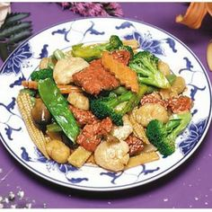 Scallop W.mixed Vegetables - China Express - Zmenu, The Most Comprehensive Menu With Photos