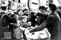 Republicanos españoles en la frontera francesa, 1939