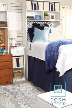 Dorm Bedding, College Dorm Ideas, Dorm Storage Solutions : Dorm Decor offers a variety of college dorm bedding, accessories, and storage solutions perfect for the incoming college freshmen. Check out our website and start designing today! Dorm Rugs, Dorm Pillows, Dorm Storage, Dorm Organization, Dorm Seating, Dorm Room Posters, Dorm Bed Skirts, Dorm Room Accessories, Dorm Furniture