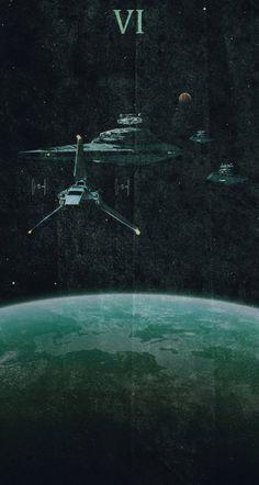 Star Wars Episode VI - Return of the Jedi poster by Colin Morella