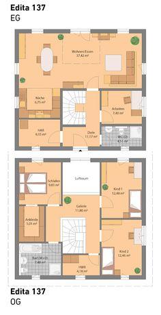 Grundriss ohne Keller (auch mit Keller möglich)  Individuell anpassbar!