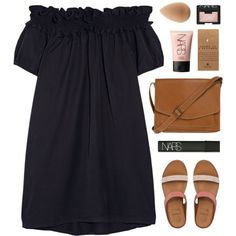 How To Wear Offshoulder Outfit Idea 2017 - Fashion Trends Ready To Wear For Plus Size, Curvy Women Over 20, 30, 40, 50