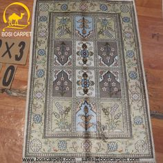Hand knotted silk rug # Rug No.: P4235 # Quality: 150L (156kpsi) # Size: 2x3ft (61x91cm) # Material: 100% Silk # wholesale Price: $96/piece # If you have any interests, please email to sales@bosicarpets.com        Hand-madecarpet#orienatlrug#oldrug#Kashmirrug#Chinacarpet#Iraniancarpet#boteh#HeratiGul# Isfahan#Tabriz#Qum#Nain#Kashan#Kerman#Bijar#Sarouk#Caucasian#antiquecarpet#bosicarpet