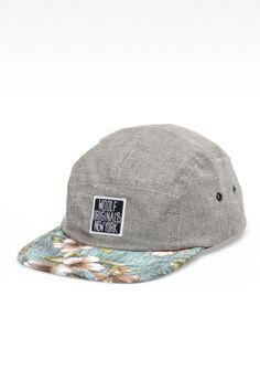Woolf Five Panel Hat