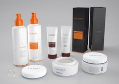 Calidora Cosmetics Packaging Design by Husamettin Mutluturk, via Behance