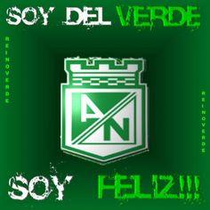 Soy Del Verde ... Y Soy Feliz. Memorias de un Costeño hincha del Nacional.
