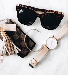 A few of our essential accessories at the moment! // light pink and gold is our favorite pairing! Daniel Wellington, Pink And Gold, Pairs, In This Moment, Accessories, Fashion, Moda, Fashion Styles, Fasion