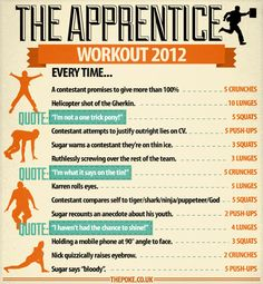 The Apprentice Workout