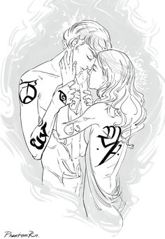"""phantomrin: """" Completely forgotten I've done some Shadowhunter pics -__- Mark & Helen Blackthorn. (""""TMI by Cassandra Clare ) Idk why I draw Mark or Helen quite often. """" I think it might be a phantomrin day … Lady Midnight Cassandra Clare, Cassandra Jean, Cassandra Clare Books, Emma Carstairs, Jace Wayland, Clace Fanart, Malec, Clary Et Jace, Cassie Clare"""