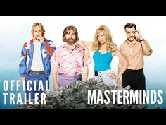 Watch: New 2016 Trailer for Ensemble Heist Comedy 'Masterminds' | FirstShowing.net