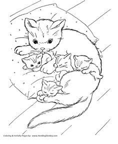 Chat coloriage chat en ligne gratuit