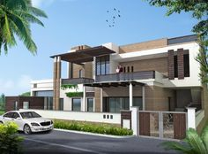 best exterior color combinations for indian houses - Google Search ...