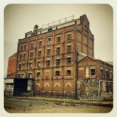 Old flour mill at Port Adelaide
