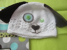 White hat with added felt