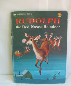 Rudolph the Red Nosed Reindeer Golden Richard by mudintheUSA, $12.50