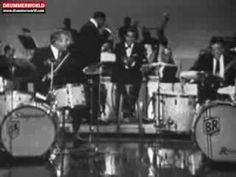 Buddy Rich - Gene Krupa - Sammy Davis Jr: The legendary drum battle at the Sammy Davis Show - 1966