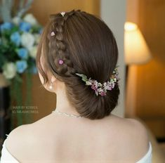 Best 31 Braided Bun Hairstyles For Brides-To-Be ShaadiSaga Braided Bun Hairstyles, Bun Hairstyles For Long Hair, Indian Hairstyles, Bride Hairstyles, Party Hairstyles, Trending Hairstyles, Short Hair, Clip Hairstyles, Braided Buns