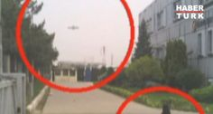 Security guard in Turkey photographs UFO
