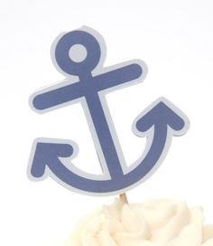 Nautical Birthday Party  Set of 12 Anchor by TheBirthdayHouse, $6.00