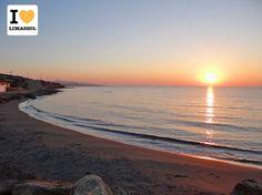 Beautiful sunrise at Agios Tychonas beach in #Limassol #Cyprus.