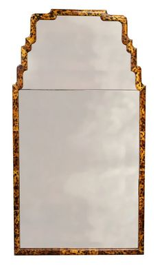 Faux Tortoise Shell Mirror - Little Green Notebook
