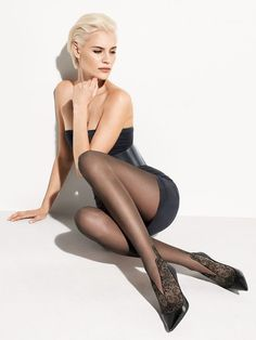 15 Patterned Tights For Fall That Are Anything But Basic, Because Plain Black Nylons Are So Boring