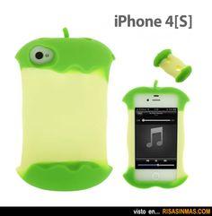 Fundas originales para iPhone: Manzana mordida.