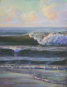 """Painting Every Day: """"Winter Break"""" 11x14 Pastel"""