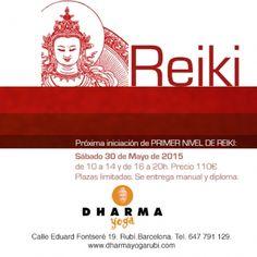 Iniciación de 1er nivel de Reiki   CONTENIDOS DEL CURSO   1 - Qué es Reiki.  2 - Breve historia del Reiki.  3 - Qué puede hacer Reiki por mi.  4 - Qué esperar de una sesión de Reiki.  5 - El aprendizaje de Reiki.  6 - La energía en el cuerpo y los chakras.  7 - Interrelación entre chakras..  8 - Reiki y ciencia.  9 - Por qué enfermamos.  10 - Los niveles de Reiki.  11 - Cuando no usar Reiki.  12 - Ley de la atracción  13 - El período de purificación y las crisis de sanación..