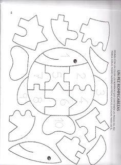 Foto: Preschool Curriculum, Kids Learning Activities, Infant Activities, Teaching Kids, Baby Quiet Book, Felt Quiet Books, Felt Patterns, Applique Patterns, Idees Cate