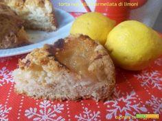 Torta nua alla marmellata di limoni  #ricette #food #recipes