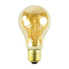 Het Lichtlab Kooldraad Edison lichtbron E27 64mm 40W. Deze lichtbron is zo mooi dat ie geen lampenkap nodig heeft! @hetlichtlab #verlichting #lichtbron #design #Flinders