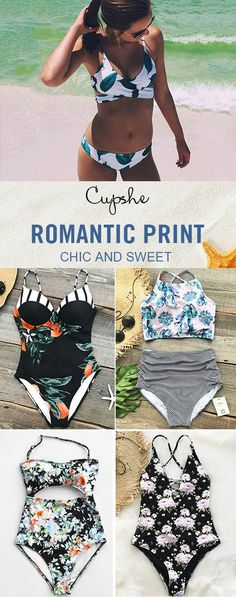 Happy new year~ Time to have something new for your beach vacation! Fabulous printed bikinis with chic design~ Adorable and affordable. Pack these babes and be the star from poolside to the beach! Check now.