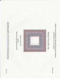 MLB TISSUE BOX COVER TEXAS RANGERS by MOUNTAIN HARMONY CREATIONS 1/2