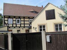 Gehöft in Radebeul, Sachsen.