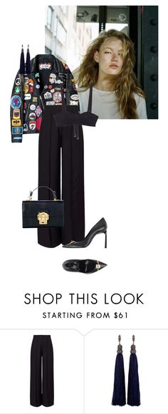 """""""postcard from far away"""" by dear-inge on Polyvore featuring Miss Selfridge and Lanvin"""