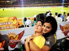 Charmi With Sania Mirza,Priyamani at the IPL - telugu cinema news