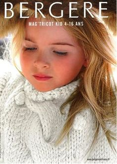 Knitting Magazine 158 - Tricot Kid 4 Years by Bergere de France Knitting Books, Crochet Books, Knitting For Kids, Baby Knitting, Knit Crochet, Knitting Magazine, Crochet Magazine, Pull Torsadé, Kids Fashion