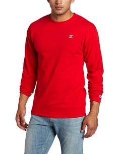 dd471355 Champion Men's Long Sleeve T-Shirt, Black, Medium | Amazon.com Champion