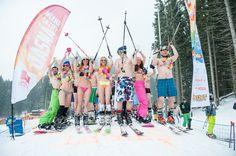 BIKINI SKIING 2016 - Jasná Nízke Tatry Easter Traditions, Mountain Resort, Resorts, Skiing, Bikinis, Ski, Vacation Resorts, Bikini, Beach Resorts