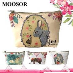 [Visit to Buy] New Women Wallet Canvas Coin Purse Travel Organizer 8 Color Floral Women Storage Bag Day Clutch Card Holders Women Purse H21 #Advertisement