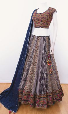 choli-Raas The Global Desi-[chaniya_choli]-[chaniya_choli_online_USA]-[chaniya_choli_for_garba]-[chaniya_choli_for_navratri]-Raas The Global Desi Dress Indian Style, Indian Fashion Dresses, Indian Designer Outfits, Indian Outfits, Indian Clothes, Lengha Blouse Designs, Half Saree Designs, Choli Designs, Lehnga Dress