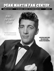 Dean Martin Fan Center celebrating Dino's 100th birthday!