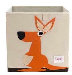 Kangaroo storage bin by 3 sprouts