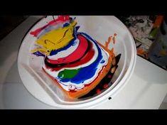 127 -El arte en la pintura.. Como preparar la pintura del Pouring - YouTube