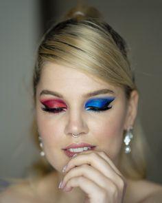 #iMikriOllandeza #MikriOllandeza #makeup #boldmakeup #differenteyemakeuplooks #aesthetic #naturalbrows #septum #septumpiercing #septumring #falselashes #redmakeup #bluemakeup #cateye #cateyemakeup #makeuplook #2020 Cat Eye Makeup, Red Makeup, Makeup Looks, Natural Brows, False Lashes, Septum Ring, Jewelry, Red Dress Makeup, Jewlery