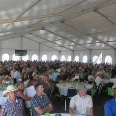 We have a large number of attendees at our luncheons and they start each month off with a BANG!