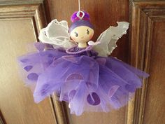 purple fairy jan 2011 by Clothespin Dolls By BraJul, via Flickr