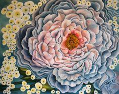 Blushing Peony by Debra Bucci Fine Art
