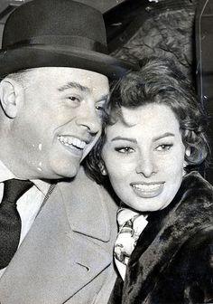 Iconic weddings: Sophia Loren and Carlo Ponti